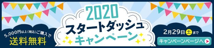 2020 スタートダッシュキャンペーン 5000円以上ご購入で送料無料